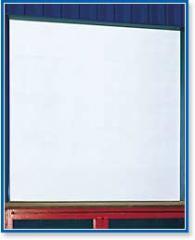 Insulated Commercial Overhead Door, Model 280
