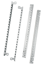 Front and Back Vertical Accessory Mounting Rails