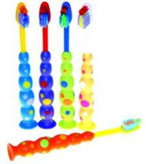 Plak Smacker Kid's Suction Cup Toothbrush