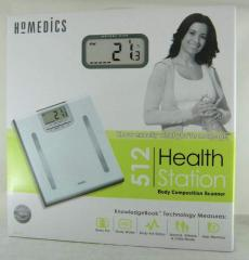 Homedics Health Station Body Composition Scanner,