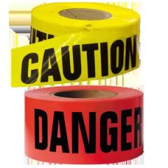 Tape Rolls Caution & Danger