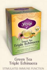 Green Tea Triple Echinacea 16 tea bags