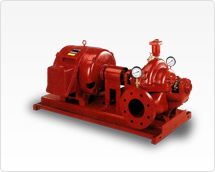 Horizontal Split Case Electric Drive Fire Pump -