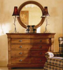 Tuscano Drawer Dresser & Mirror