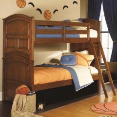 Deer Run Twin-Over-Twin Bunk Bed
