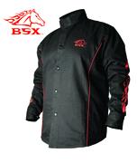 BSXн Stryker FR Welding Jacket BX9C Black Stallion