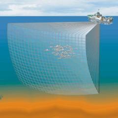 Simrad MS70 Scientific multibeam sonar