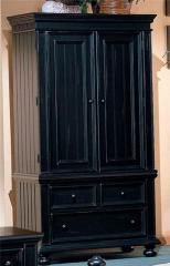 Winners Only Cape Cod Two Door Armoire with Three