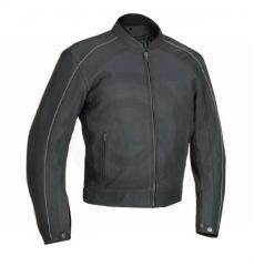 River Road™ Anvil Perforated Matte Black Jacket
