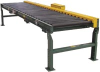 Chain Driven Live Roller Conveyor, Model 199-CRR
