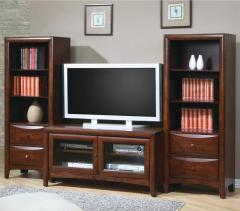TV Stand and Media Tower Wall Unit