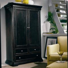 Reflections Solid Hardwood Armoire