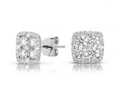 E7797WG Diamond Earring