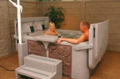 South Pacific Spas Compact Spa