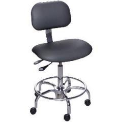 Chair Black Vinyl Class 100