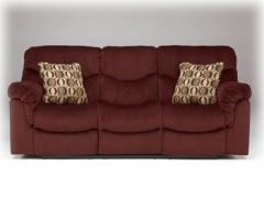 Motivation - Burgundy - Reclining Power Sofa