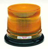 Whelen 2519 Series Strobe Beacon - Amber, Magnetic