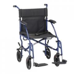 "18"" Ultra Lightweight Transport Chair,"