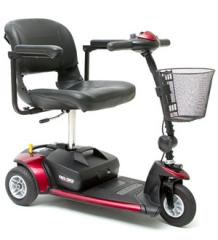 Pride GoGo Elite 3 Wheel Scooter