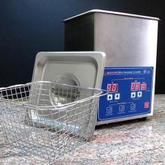 A-Source 1/2 Gallon Digital Ultrasonic Cleaner Heat & Timer