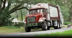 Mack Granite 25 Yard Rear Loader Refuse Truck