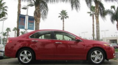 2013 Acura TSX 5-Speed Automatic Sedan Car
