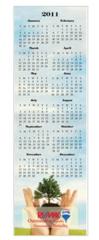 Ez Mail Eco Greeting Card Wall Calendar