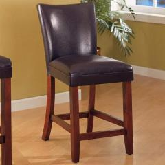 """Telegraph 24"""" Faux Leather Bar Stool"""