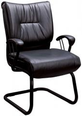 Casual Contemporary Faux Leather Office Side Chair