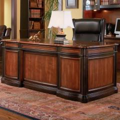 Pergola Double Pedestal Desk