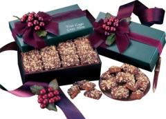 Green Gift Box With English Butter Toffee (GQ#