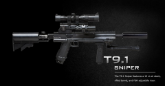 T9.1 paintball sniper rifle