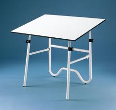 Alvin Onyx Fold-Away Drawing Table
