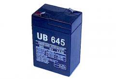 Sealed Lead-Acid Batteries Model UB645