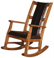 Sedona Rocker with Cushioned Seat/Back