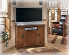 Cross Island - Corner TV Console