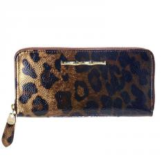 Cheetah Zip Continental Wallet