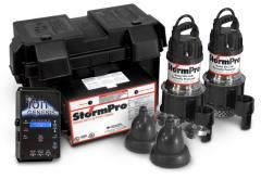 StormPro®Deluxe back-up system