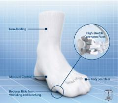 SmartKnit® Seamless Diabetic Socks Education
