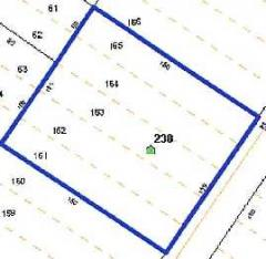 Small level .43+/- acre lot