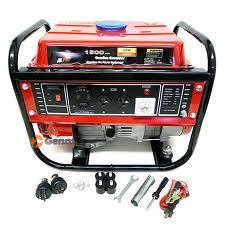 1500W Generator 4 Stroke Epa&Carb