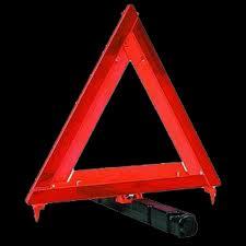 Triangle Warning Reflector