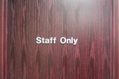 Interior Signage or General Indoor Signs