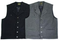 Buckaroo men's wool vest