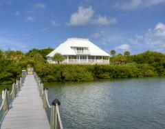 Palm Island waterfront home
