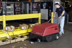 Walk-Behind Floor Sweeper Factory Cat 34