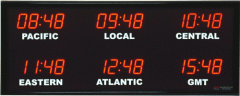 Time Zone Displays