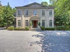 European style custom built home