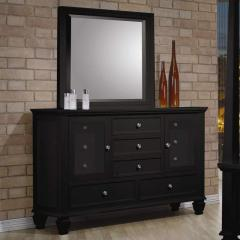 Sandy Beach Classic 11 Drawer Dresser and Vertical