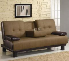 Two Tone Convertible Sofa Bed